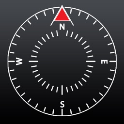 NESW - Precise Compass with Heading, Minimal
