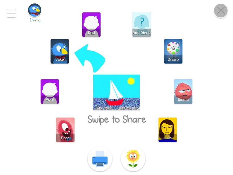 Drawp Lite - Family Art and Messaging App