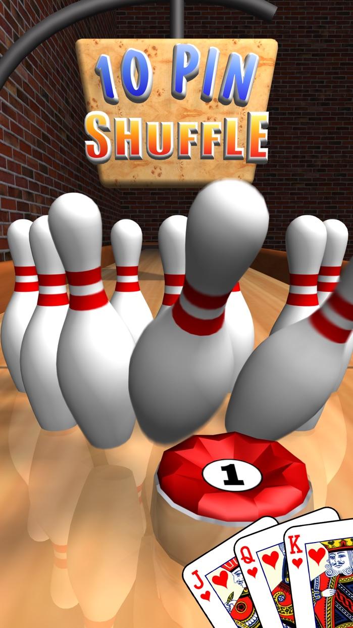 10 Pin Shuffle Bowling Screenshot