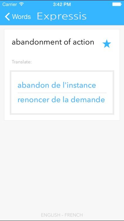Expressis Business & Law EN-FR screenshot-4