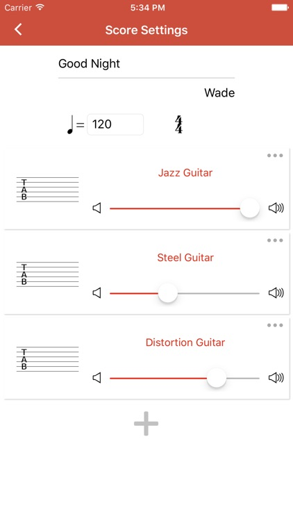 Guitar Notation - Tabs&Chords screenshot-3