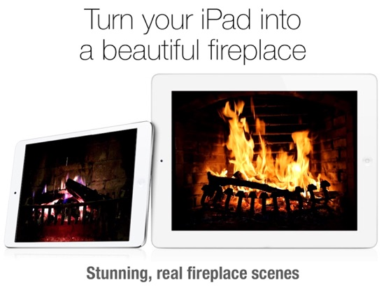 Fireplace Live HD pro Screenshots