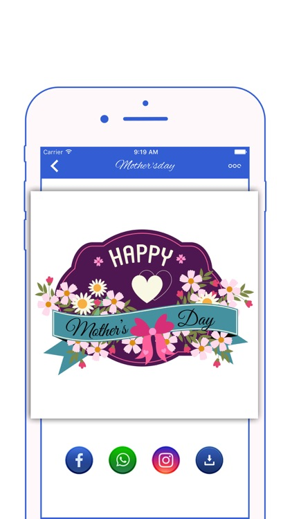 Happy Mother's Day Stickers screenshot-0