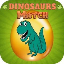 Dino Animal Memory Match Facts Cards