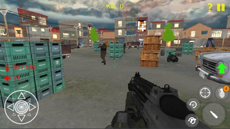 Terrorist Shooting Game screenshot-4