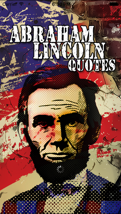 Abraham Lincoln Quotes & Pandora Quotation Sharing screenshot