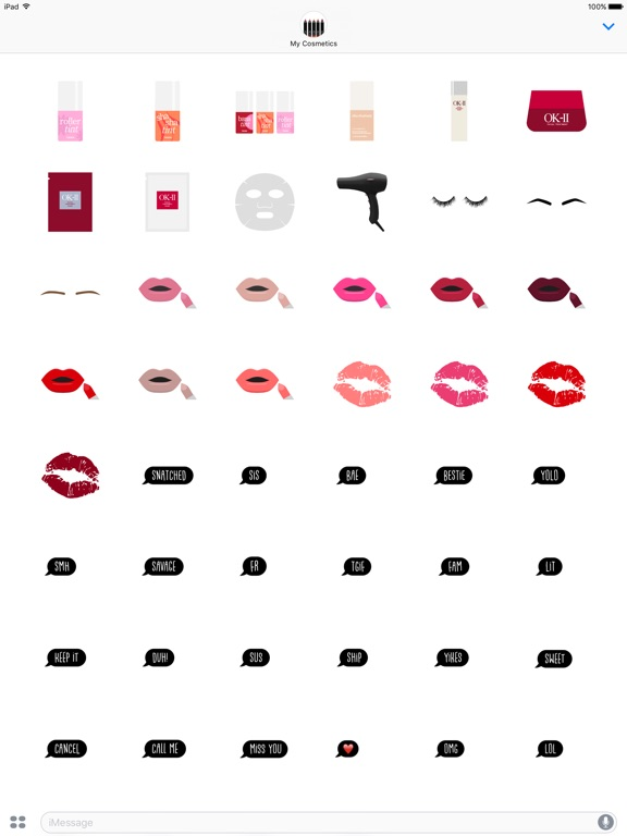 My cosmetics makeup beauty stickers app price drops screenshot 5 for my cosmetics makeup beauty stickers publicscrutiny Choice Image