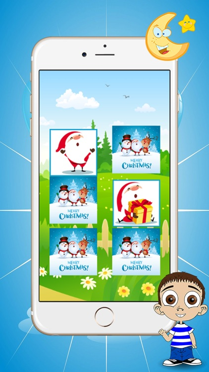 Christmas Matching games for kids