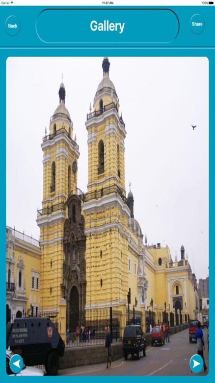 Lima Peru City Offline Map Navigation EGATE screenshot-4