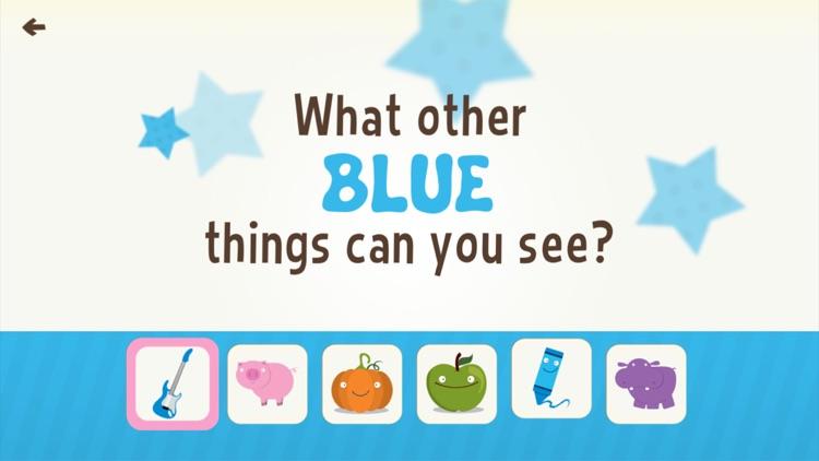 Toddler Learning Games Ask Me Color Games for Kids screenshot-0