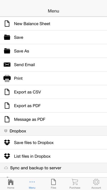 Balance Sheet screenshot-4