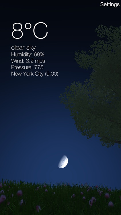 Nature Live Weather 3D PRO screenshot-1