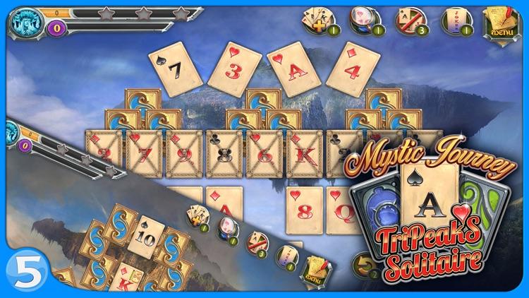 Mystic Journey: Tri Peaks Solitaire screenshot-3
