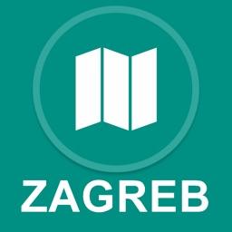 Zagreb, Croatia : Offline GPS Navigation