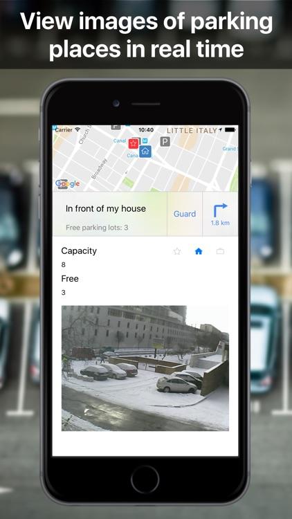 Parkoviz: Find free parking place