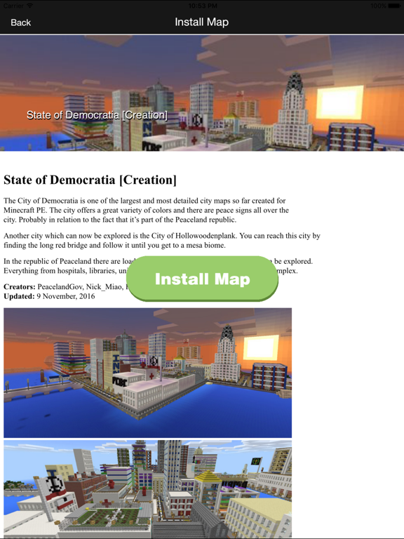 FREE Mansion & City Maps For Minecraft PE MCPE | App Price Drops