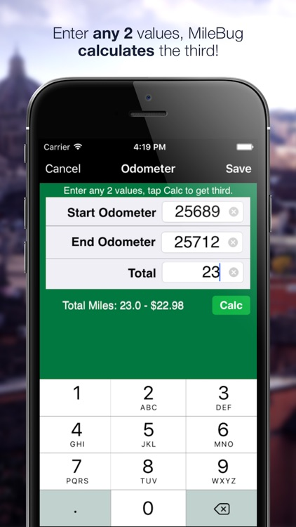 MileBug - Mileage Log & Expenses for Tax Deduction screenshot-3