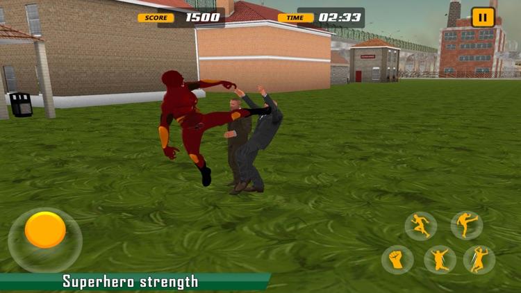 Super Hero Fighting City Mafia screenshot-3