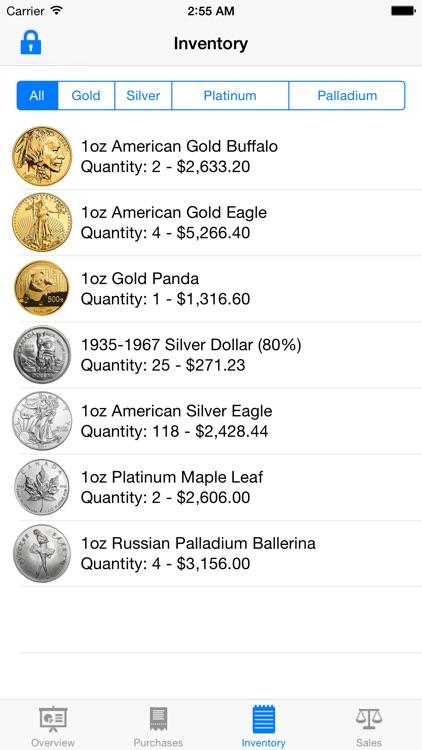 Gold Tracker screenshot-4