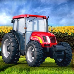 Farming Expert Game: Diesel Tractor Harvest Season