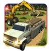Offroad Cargo Hot Wheels Truck: 3D Fire Action