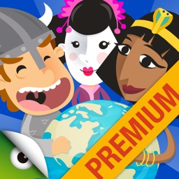 History for Kids: All Civilizations Games Premium