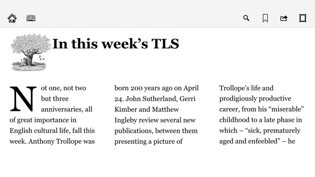 The Times Literary Supplement on the App Store