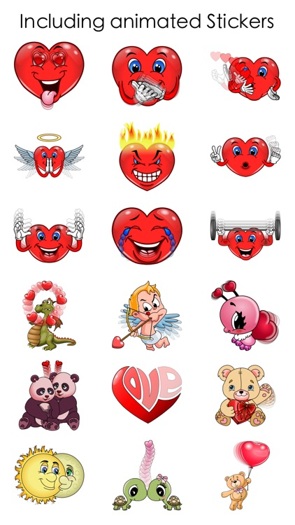 Valentine's Love Stickers