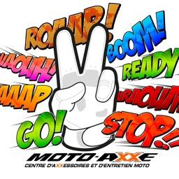 Moto Axxe Stickers