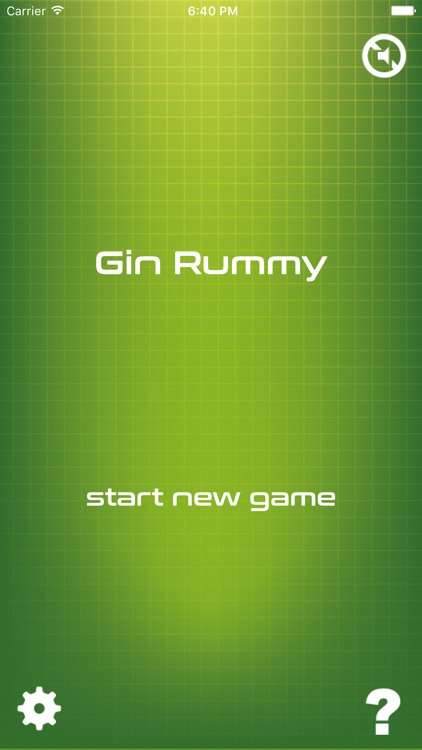 Classic Gin Rummy