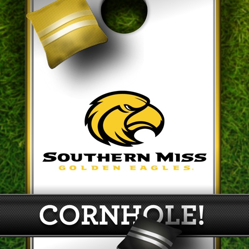 Southern Miss Golden Eagles Cornhole