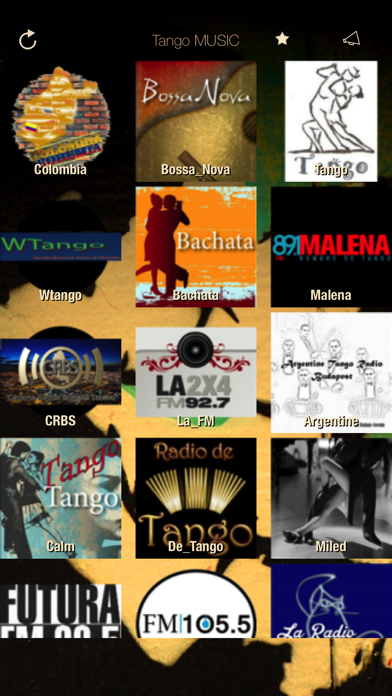 Tango Music Radio ONLINE FULL screenshot one