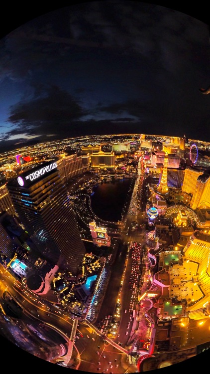 VR Las Vegas Strip Helicopter Virtual Reality 360 screenshot-4