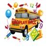 校车儿童游戏 - 第一赛车课