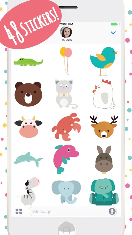 Super Cute Baby Animals Stickers screenshot-3
