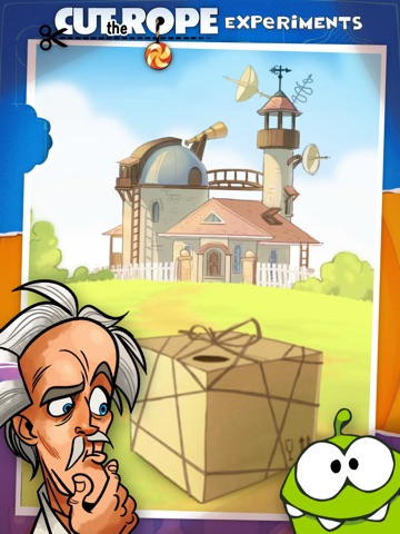 Cut the Rope: Experiments HD™ для iPad
