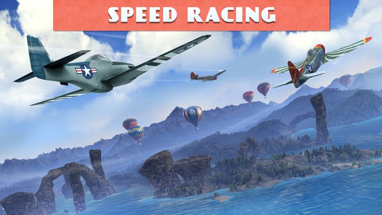 Sky Gamblers Races screenshot-3