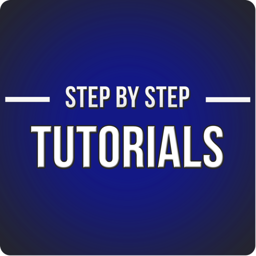 Step by Step Tutorials for Photoshop
