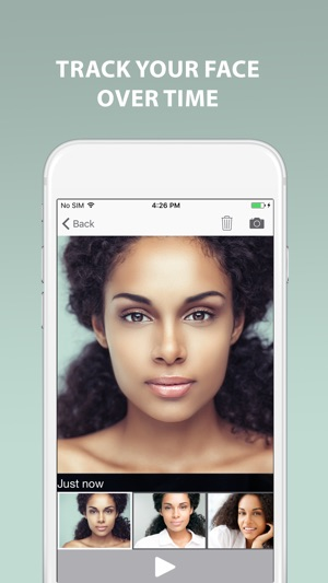 Change in Face Camera Selfie Editor app PRO on the App Store