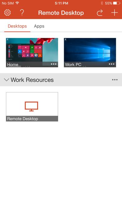 Escritorio remoto de Microsoft