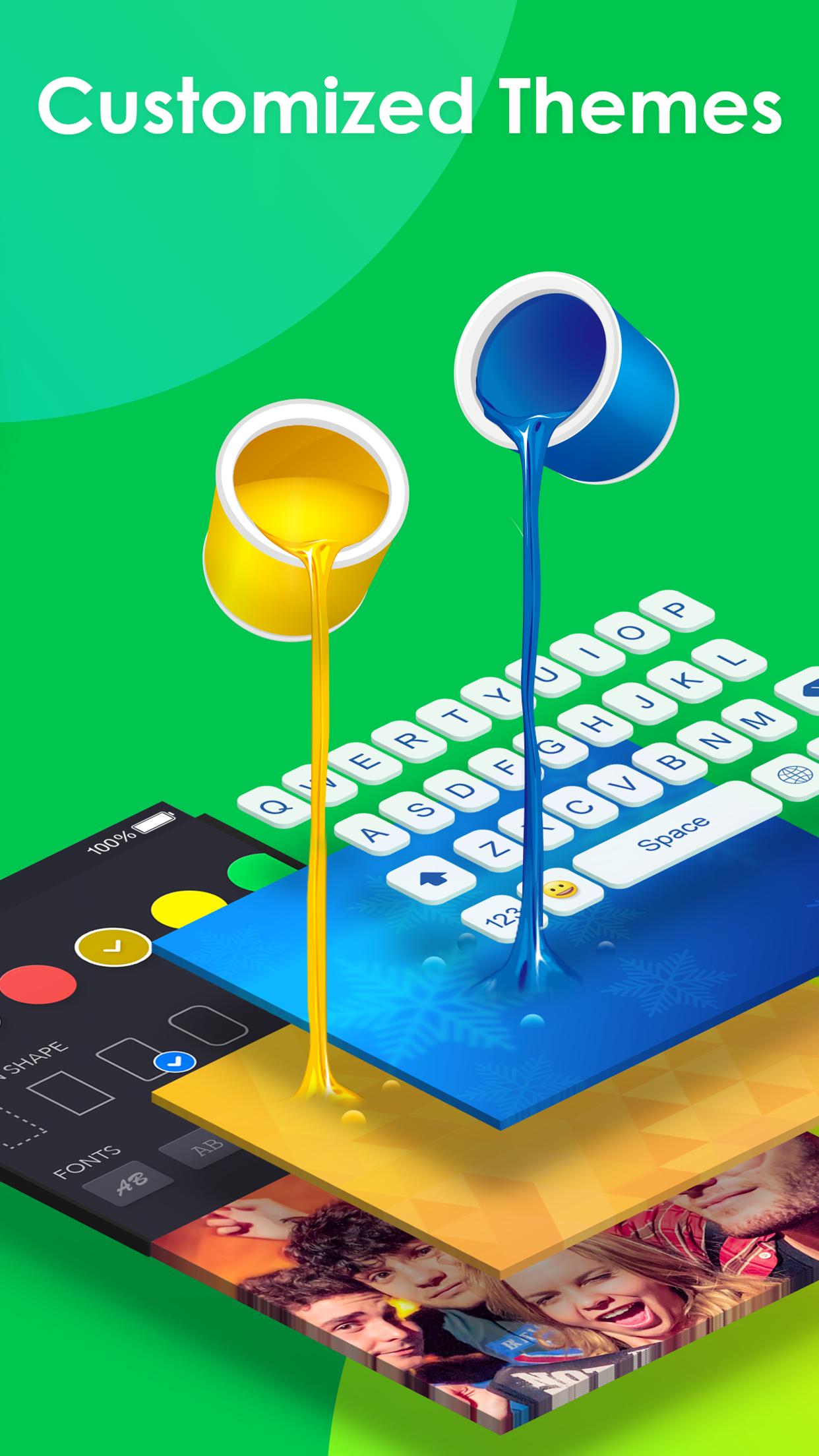 RainbowKey - keyboard themes Screenshot