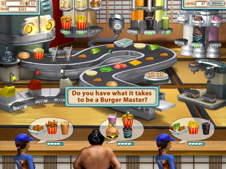 Burger Shop HD screenshot-4