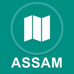Assam, India : Offline GPS Navigation