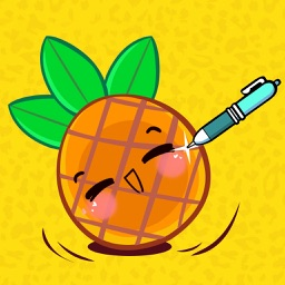 Pineapple Apple Pen Shooting - I Have a Fruit Cut