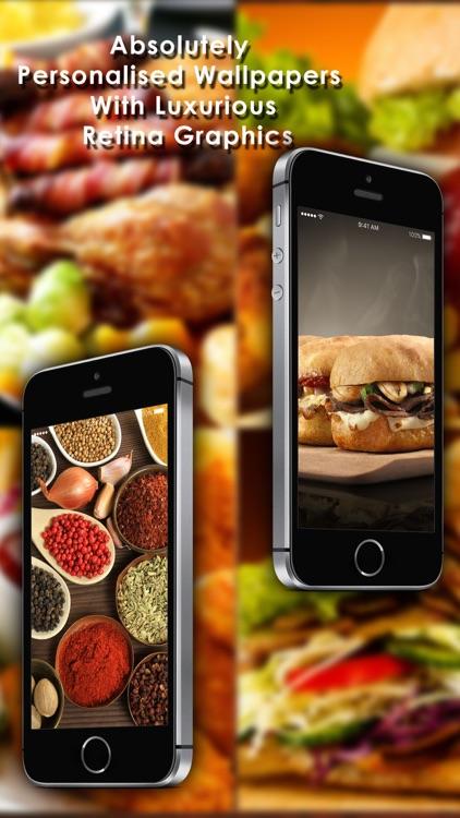 Food Wallpapers - Personalised Your Phone Screen screenshot-4