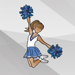 Cheerleading Stickers and Emojis
