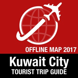 Kuwait City Tourist Guide + Offline Map