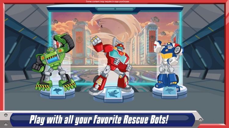 Transformers Rescue Bots: Disaster Dash - Hero Run screenshot-0