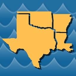 Stream Map USA - South Central