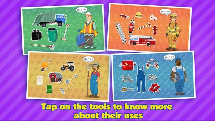 Community Helpers Play & Learn screenshot-3